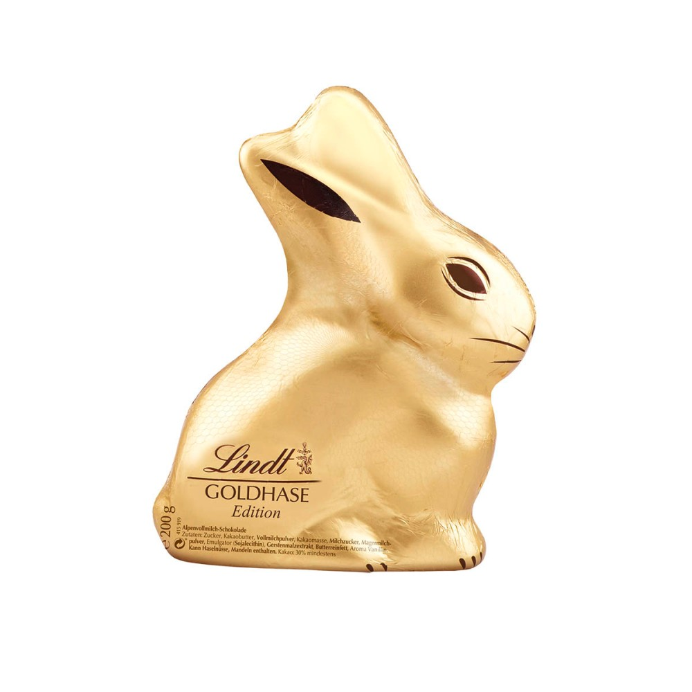 lindt bunny blame it on art