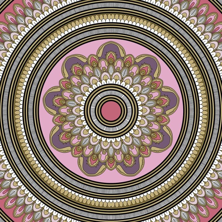 Mandala Monday 2, blame it on art