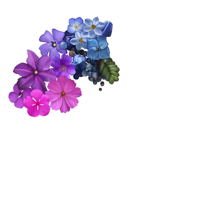 Flower mandala 1, blame it on art
