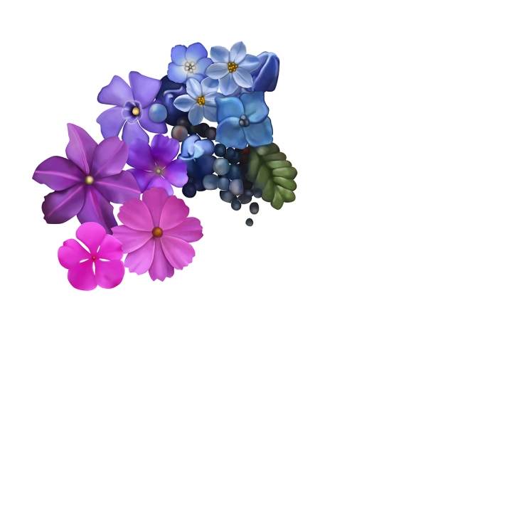 Flower mandala 2, blame it on art