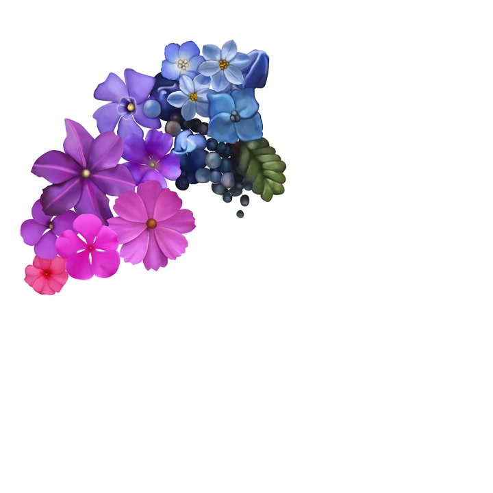 Flower mandala, blame it on art