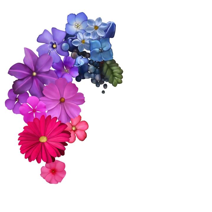 Flower mandala progress, blameitonart (1)