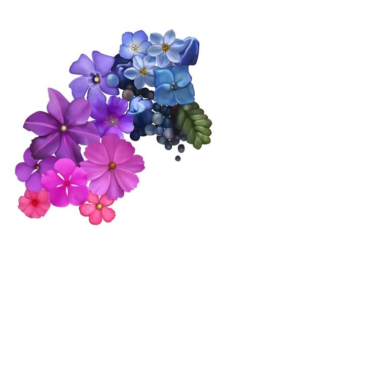 Flower mandala progress, blameitonart (3)