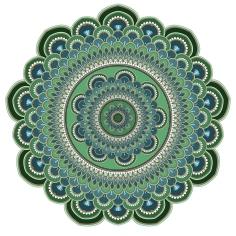 Mandala Tuesday, blame it on art