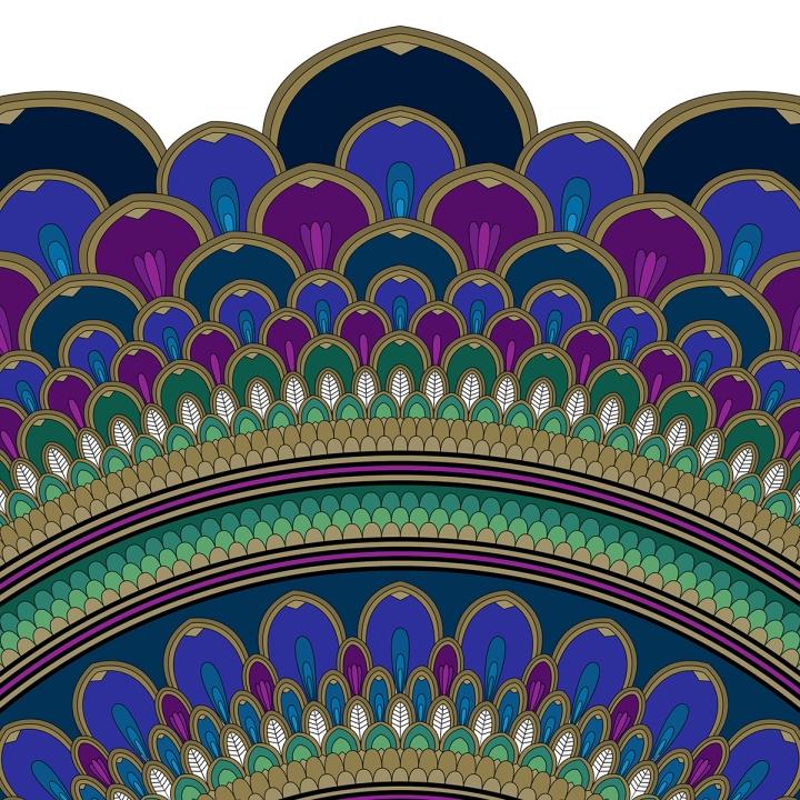 Mandala Monday, blame it on art (1)