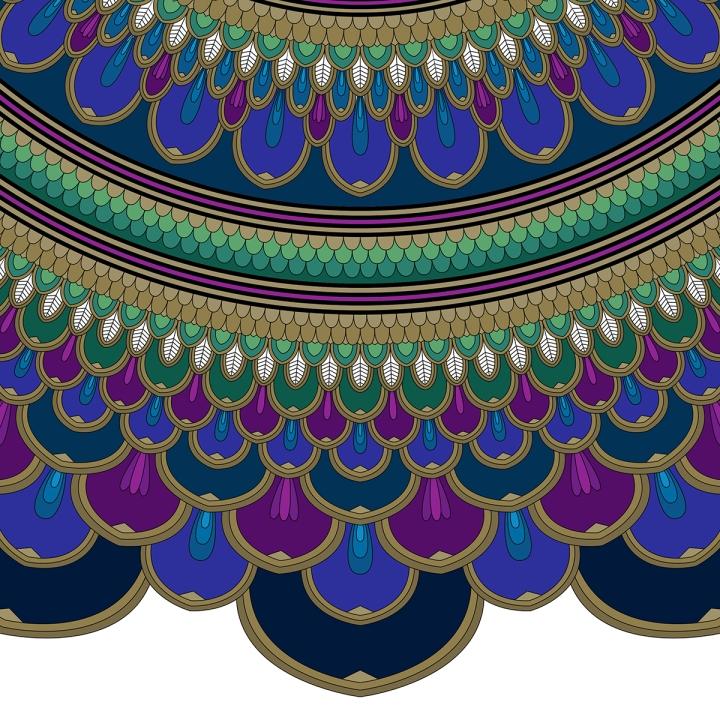 Mandala Monday, blame it on art (3)