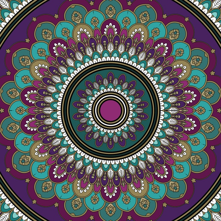 Mandala Friday, blame it on art (2)