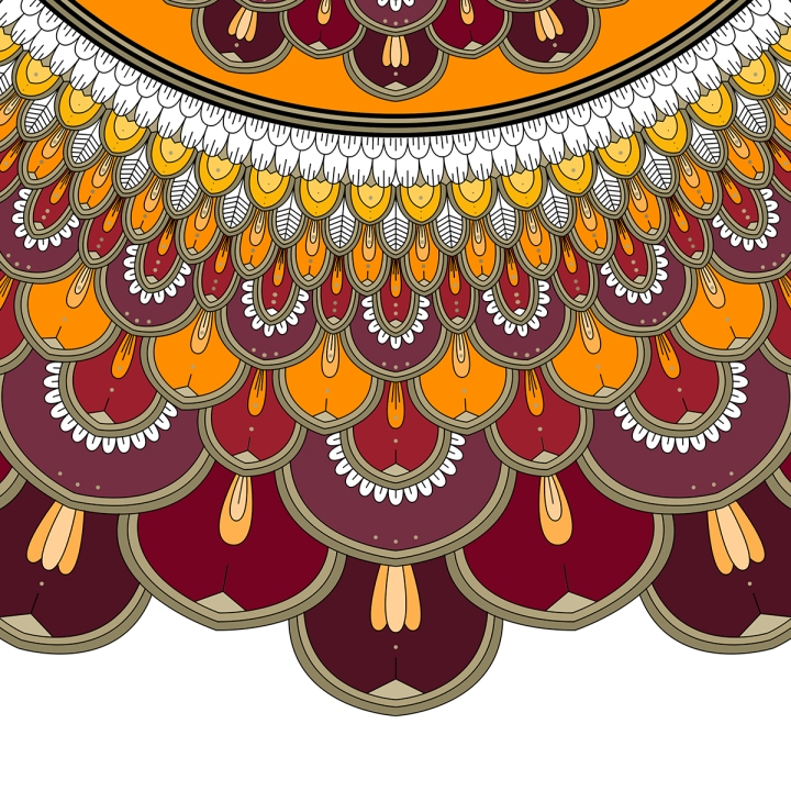 Mandala Saturday, Blame it on art (1)
