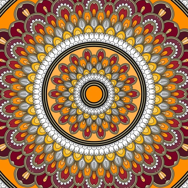 Mandala Saturday, Blame it on art (3)